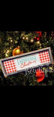 Farmhouse Sign - Farmhouse Christmas