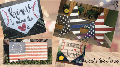 Stars, Stripes & Diamonds workshop - 5/2