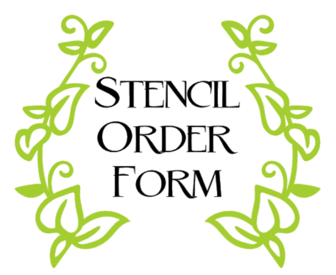 Stencil ONLY Order Form