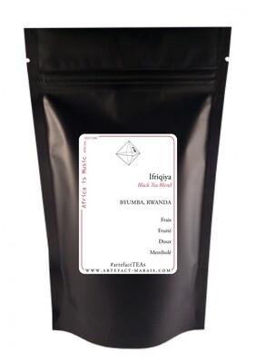 Ifriqiya [Thé noir à la bergamote, thé vert à la menthe & Hibiscus] : Paquet de 100g