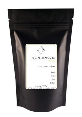 Silver Needle White Tea [Thé blanc du Népal] : Paquet de 25g