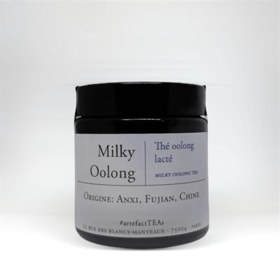 Milky Oolong: Amber Jar 40g