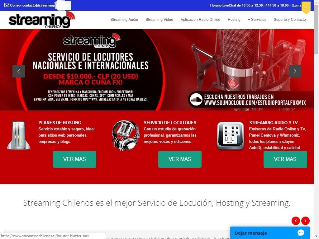 Sitio Web Para Radio Online Streaming