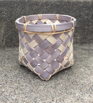 Bias-Plaited Basket. Saturday, June 6, 2020. 2:30-6:30 PM.