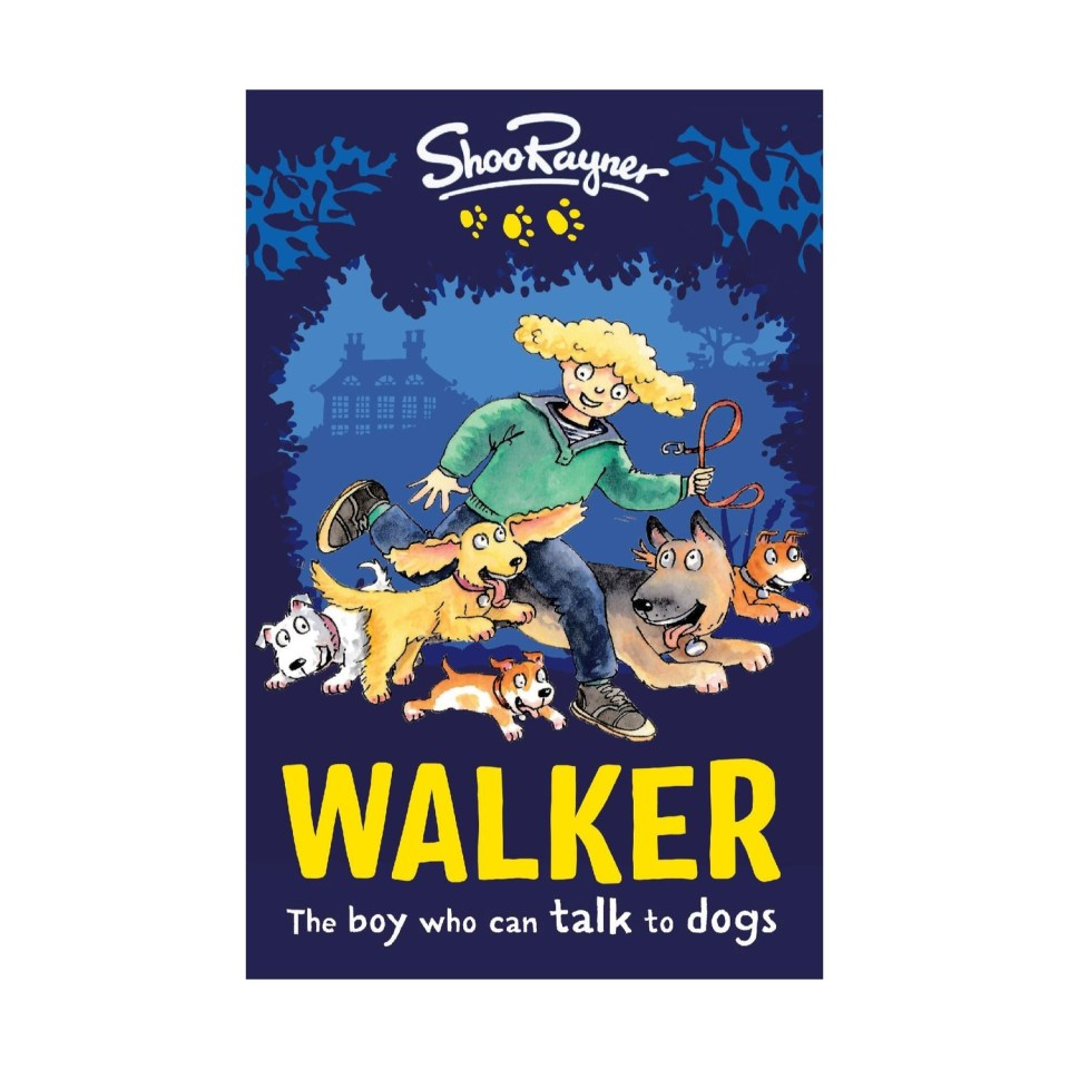 Walker - The boy who can talk to dogs - signed with free poster