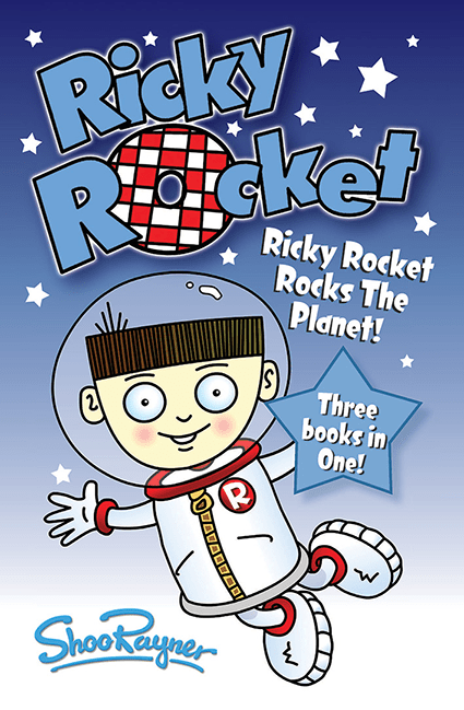 Ricky Rocket - Signed book and Free Poster!
