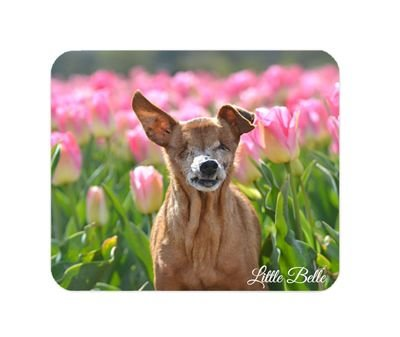 Little Belle Mouse Pad 'Tulips'