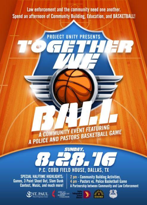 Together we ball Flyer