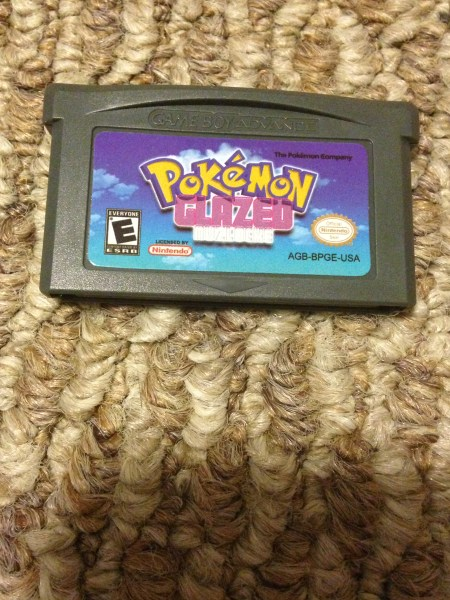 NON WORKING Pokemon Glazed Version Fan Made Nintendo Game Boy     Pokemon 20glazed original