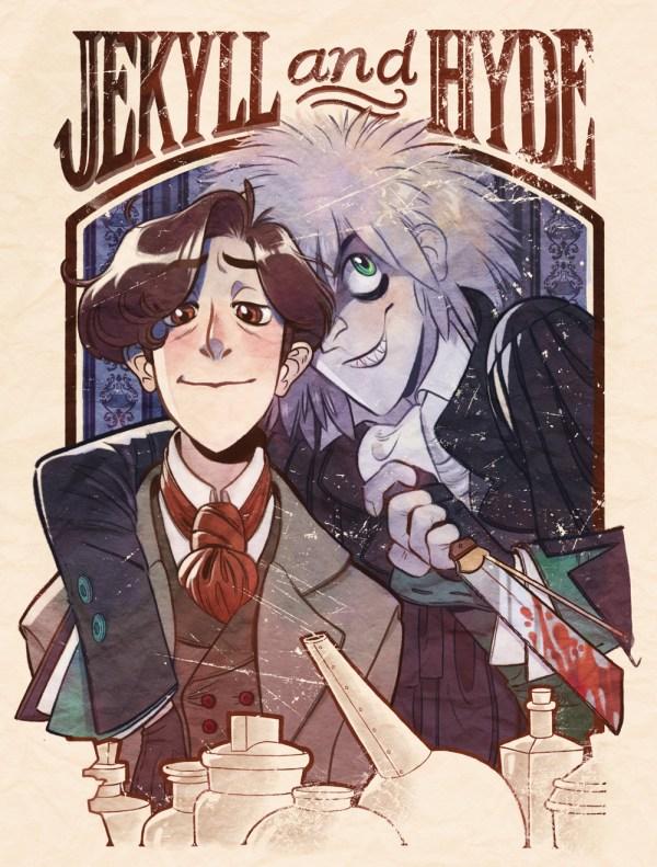 Jekyll and Hyde I Medium Print · Gaslamp Fantasy · Online ...