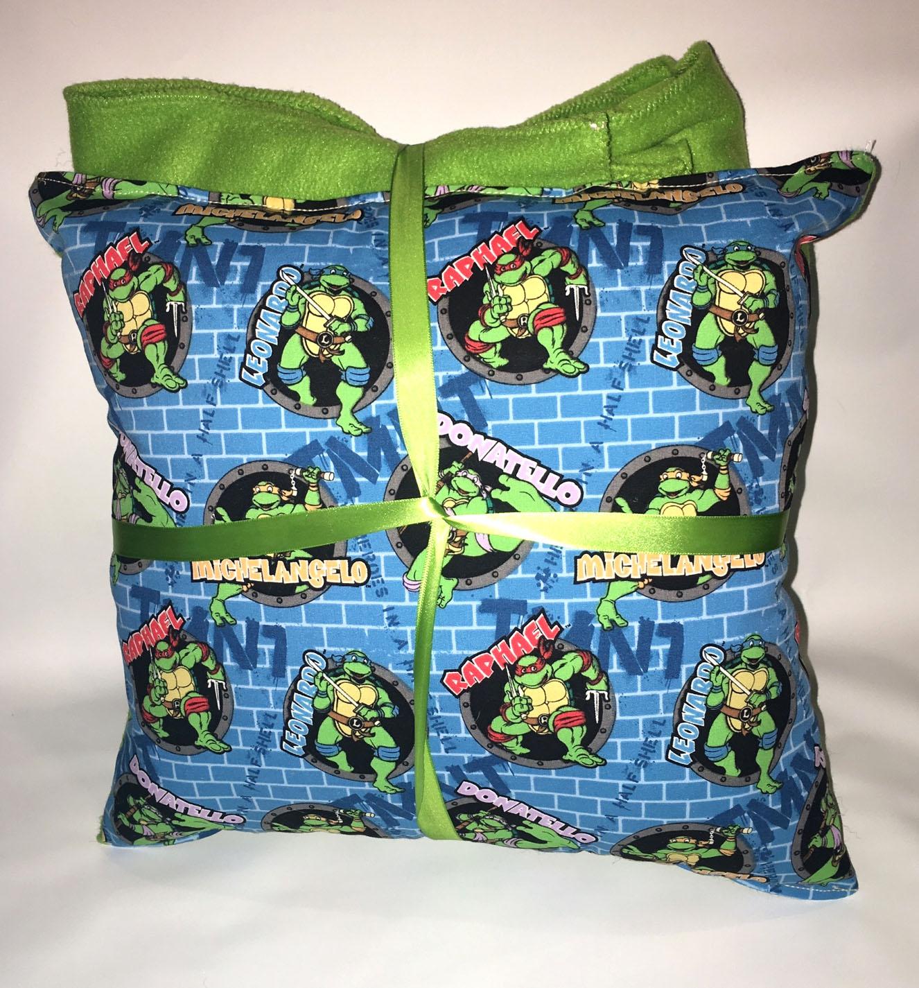 tmnt pillow and blanket teenage mutant