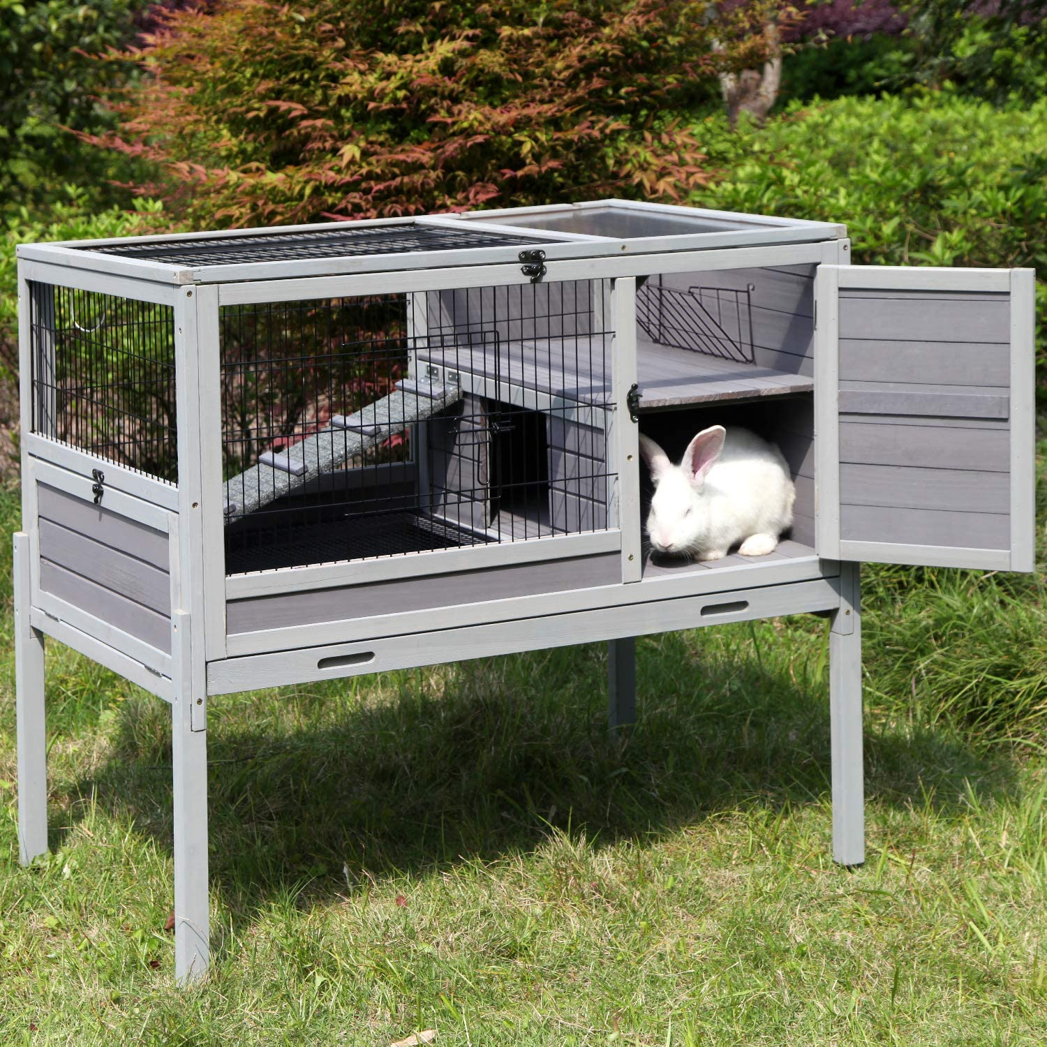 kadani cage rabbit hutch on wheels indoor and outdoor bunny hamster cage from storenvy accuweather