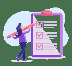 Modelo de checklist para rescisões