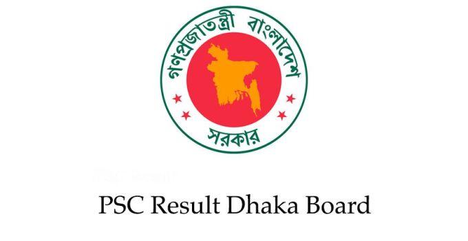 PSC Result 2018 Dhaka Board