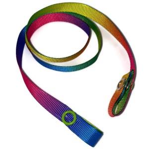 rainbow mask strap