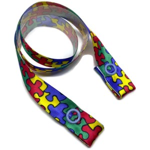 puzzle mask strap