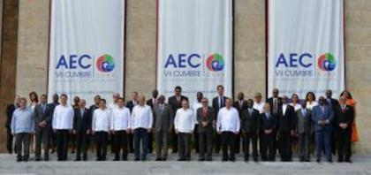 President David Granger at the VII Heads of State and or Government of ACS
