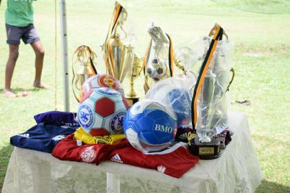 Some of the gear donated by the Ministry of Social Protection