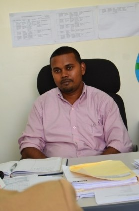 Executive Director for Infrastructure Planning and Implementation, Ramchand Jailal
