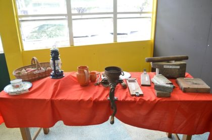 Some of the cooking utensils that were used to prepare dishes in the olden days