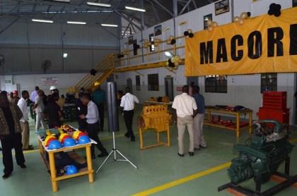 Inside LTI's new automotive workshop