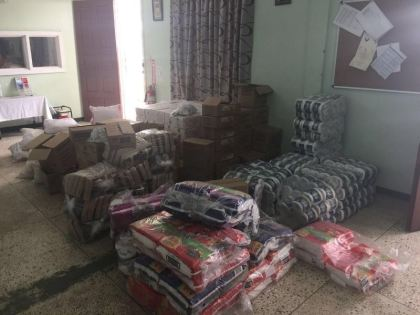 Supplies for Moraikobai residents affected by flooding being prepared by CDC officals