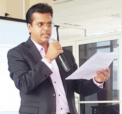 Chief Executive Officer, GEA, Dr. Mahender Sharma