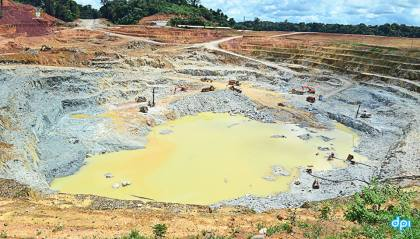 The Guyana Goldfields Inc, Aurora Gold Mine