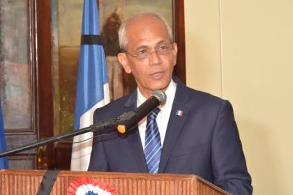 French Ambassador to Guyana, Mr. Michael Prom