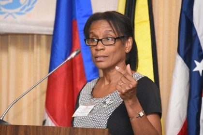 The Honourable Madam Justice Allyson Ramkerrysingh, Family Court of Trinidad and Tobago, Port of Spain, Hague Network Judge