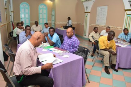 A section of the stakeholders taking part in the Technical and Vocational Education consultation