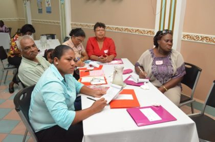 A section of the local participants at the Regional Women's Affairs Committee's Annual General Meeting (AGM) at the Regency Suites