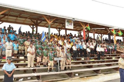 A section of the participants of the 14th Caribbean Cuboree