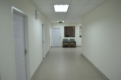 Inside the Georgetown Public Hospital Corporation's new maternity wing (ground floor)