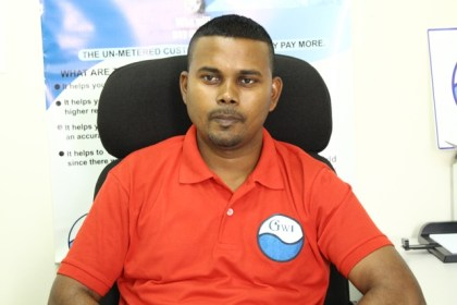 Infrastructure Planning and Implementation Director for the  Guyana Water Incorporated, Ramchand Jailall