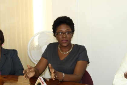 Oslyn Crawford- Smith, Ministry of Social Protection's, Assistant Chief Probation and Social Services Officer