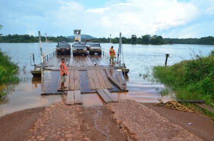Kurupukari Crossing.