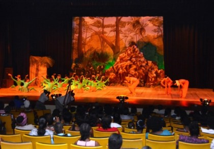 This piece, which came under 'Resolution' was a crowd favourite tat the staging of the 'A celebration of African Heritage 9' Dance Production, which was held at the National Cultural Centre, last evening.