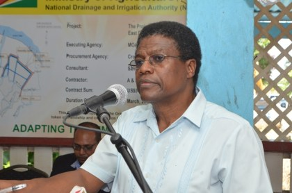 Frederick Flatts, Chief Executive Officer, National Drainage and Irrigation Authority