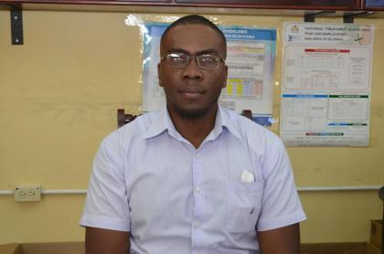 Dr. Horace Cox, Director of Vector Control Services, Ministry of Public Health