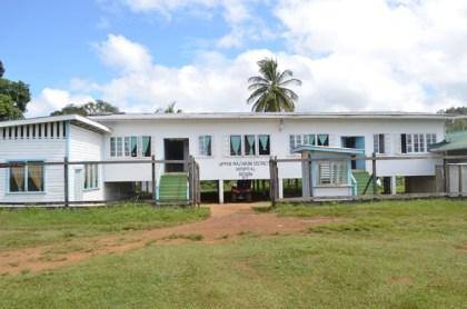The Upper Mazaruni District Hospital in Kamarang, Region Seven