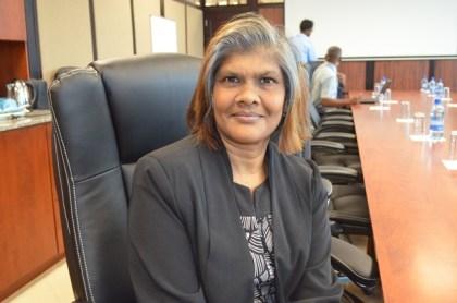 Chaitrani Heralall, Acting Director, Guyana Civil Aviation Authority (GCAA)