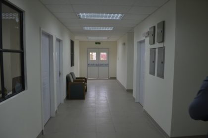 A section of the inside of the new maternity ward at the Georgetown Public Hospital Corporation (GPHC)