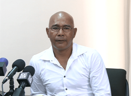 Chairman of the National Toshaos Council, Joel Fredericks
