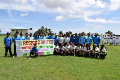 Region Two participants at the  Indigenous Heritage Games