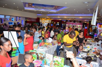 A section of the participants at the literacy clinic held at Princess / Ramada Fun City