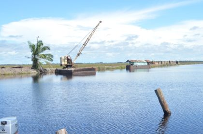 A section of the East Demerara Water Conservancy (EDWC), one of the water management facilities under the ambit of the NDIA