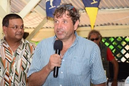 Yacht Rally organiser, David Matelicani