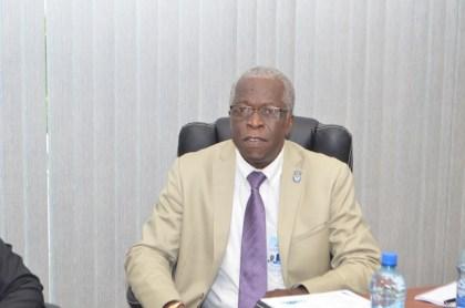 Retired lieutenant colonel Egbert Field, Director General, Guyana Civil Aviation Authority
