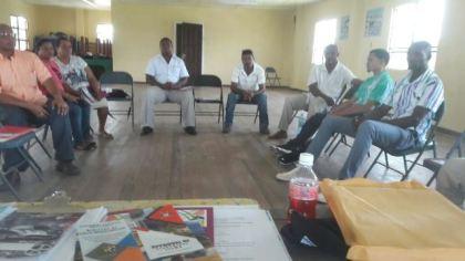 Participants at the seminar in Linden
